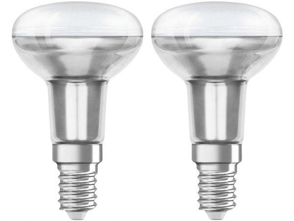 """2er-Pack OSRAM LED-Lampe """"Star"""" R50, 3,3 W, E14"""