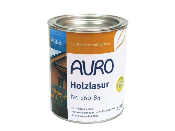 AURO Holzlasur dunkelrot 0,75 l