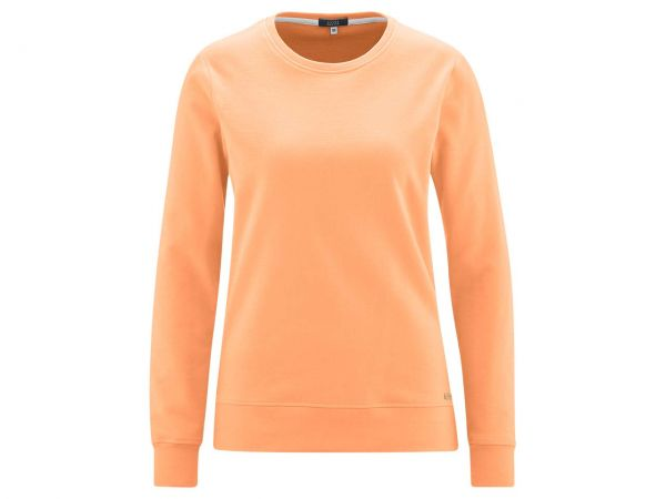 "Living Crafts Bio-Damen-Sweatshirt ""Gwyneth"" mandarin, Gr. XS"