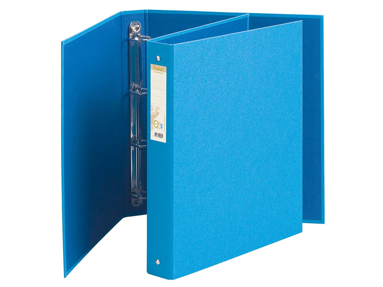 EXACOMPTA Ringbuch Karton 2-Ring-Mechanik DIN A4 blau