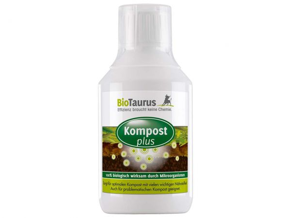 BioTaurus Bodenaktivator 'Kompost plus' 250 ml
