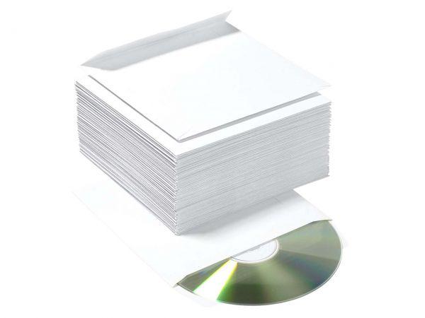 100 memo CD-Hüllen aus Recycling-Papier