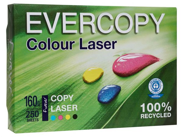 "250 Blatt Laserpapier ""Evercopy Colour Laser"" 160 g/m², DIN A3"