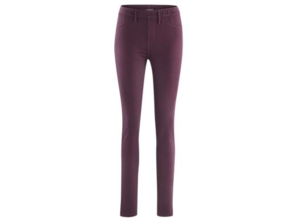 "Living Crafts Bio-Damen-Treggings ""Denise"" barolorot, Gr. L"