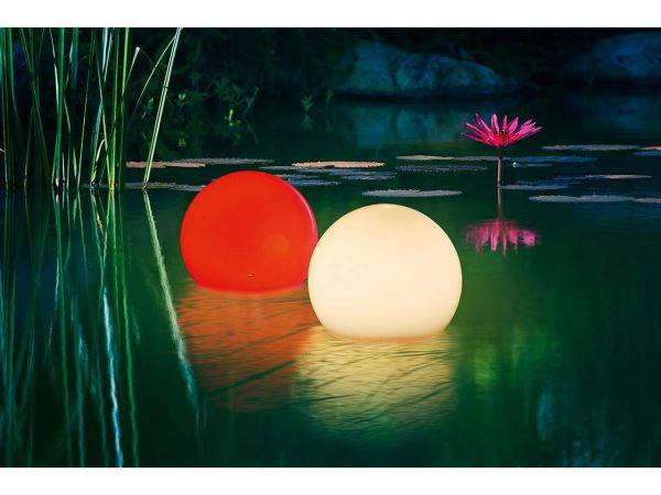 """esotec Solar-LED-Leuchtkugelset """"Multicolor"""" 15 cm"""