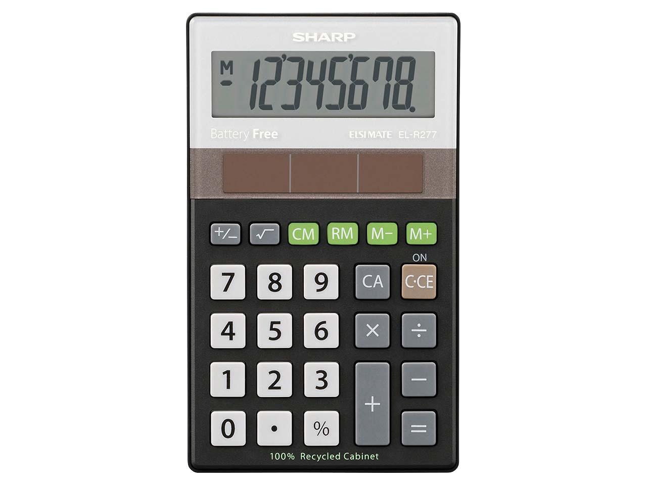 Sharp Taschenrechner El R277 öko Fair Einkaufen Memode