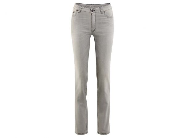 "Living Crafts Bio-Damen-Jeans ""Donna"" grau, Gr. 28R"