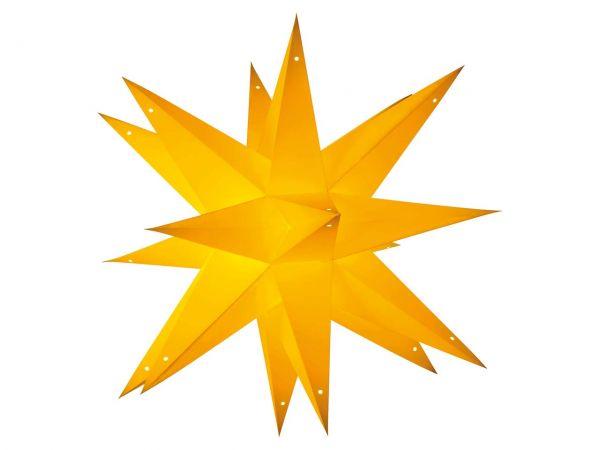 "earth friendly starlightz Papierstern ""Noel yellow"" inkl. Verstromung"