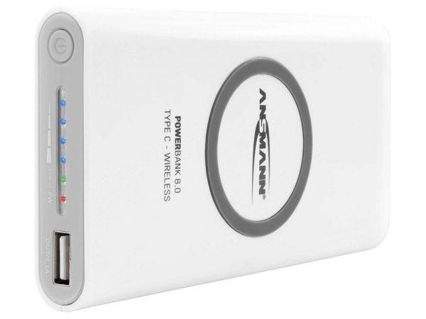 "Ansmann Powerbank ""8.8 Type C Wireless"""