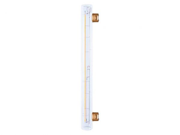 "Segula LED-Lampe ""Vintage Line"" Linienlampe, 8 W, S14s, 300 mm, dimmbar"