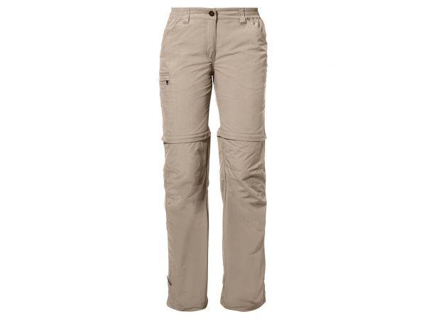 """VAUDE Damen-Trekkinghose """"Farley ZO Pants IV"""" hellbraun, Gr. 36-short"""