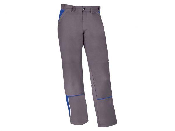 Unisex-Arbeitshose grau/blau, Gr. 64