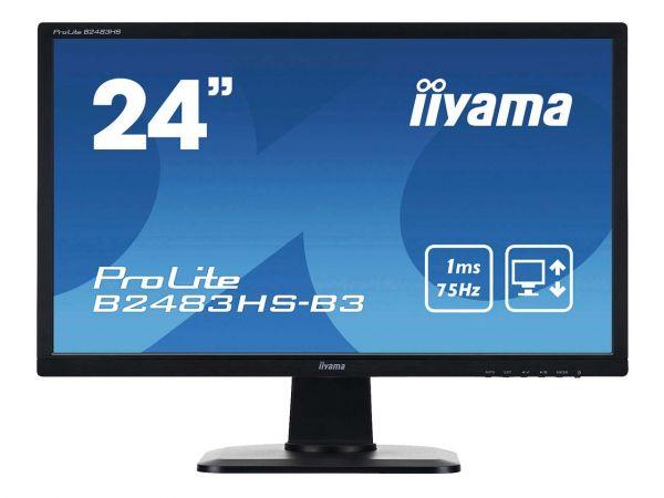"iiyama Monitor ""ProLite B2483HS-B3"" schwarz 24"" (61 cm)"