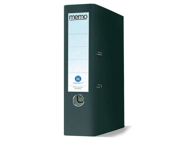 memo DIN-A4-Ordner aus Recyclingmaterial