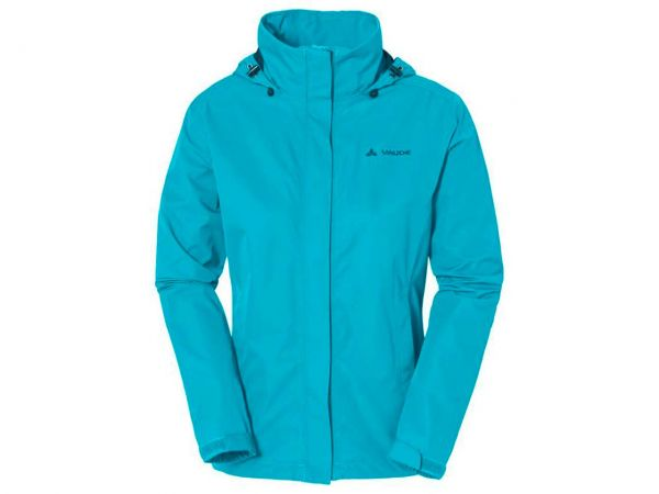 "VAUDE Damen-Outdoorjacke ""Escape Light Jacket"" cyan, Gr. 34"