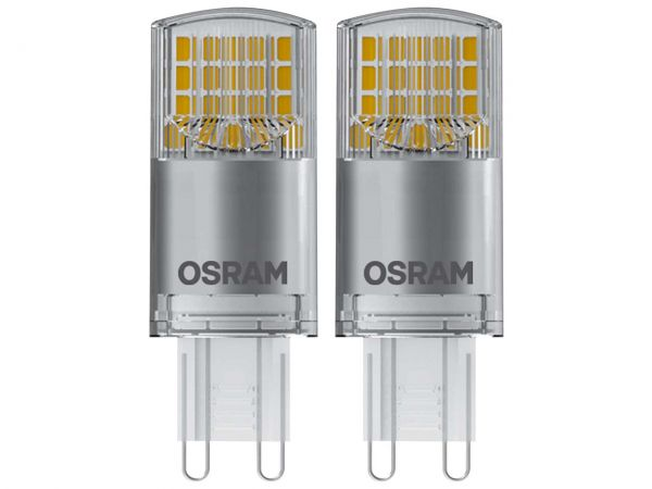 "2er-Pack OSRAM LED-Lampe ""Star"" PIN FR40, 3,8 W, G9, 440 lm"