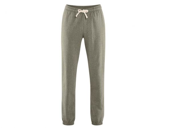 "Living Crafts Bio-Herren-Jogginghose ""Calvin"" oregano, Gr. S"