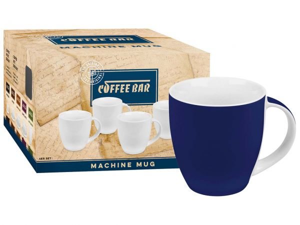 "Könitz Becher ""Coffee Bar Colors"" navy, 4er-Pack"