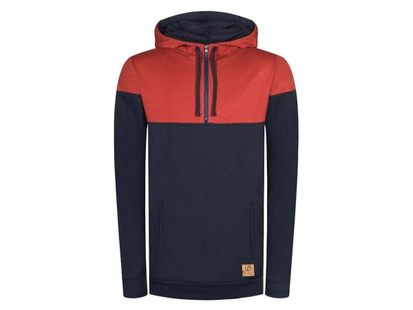 "bleed Bio-Herren-Hoodie ""Mountain Active"" rot/navy, Gr. XS"