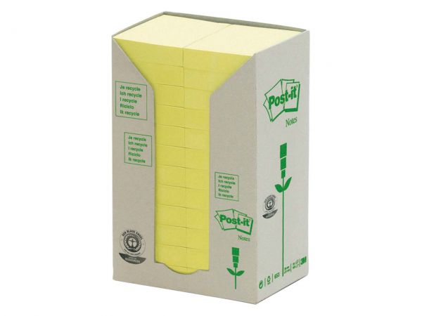 Post-it Tower gelb 38x51 24 Block