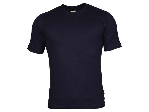 memo T-Shirt Gr. S 160g/m² blau aus Bio-Baumwolle mit Fairtrade-Siegel