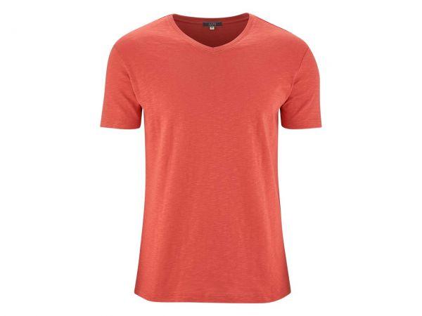 "Living Crafts Bio-Herren-T-Shirt ""Glen"" langoustino, Gr. S"