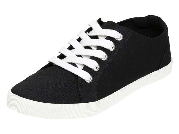 """Organic Sneaker """"Raka"""" Gr. 36, schwarz"""