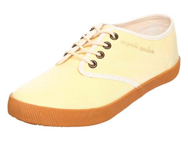"Organic Sneaker ""Joline"" Gr. 37, gelb"