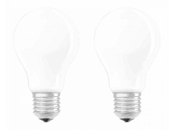 """2er-Pack OSRAM LED-Lampe """"Superstar Filament"""" CLA 75, 8 W, E27, 1055 lm, neutralweiß 4.000"""
