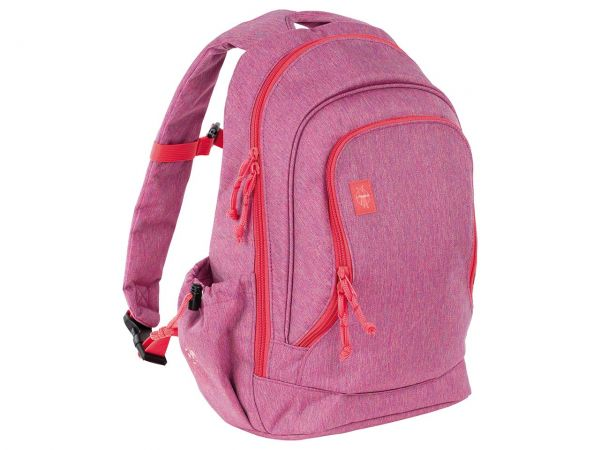 "Lässig Kinderrucksack ""About Friends"" Big Backpack melange pink"