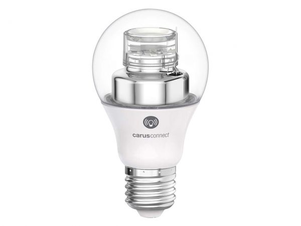"carus LED-Lampe ""Connect Smart White"", 8 W, E27, 560 lm"