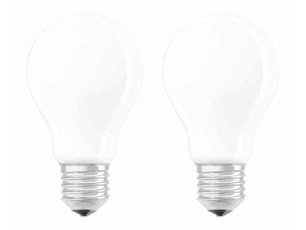 """2er-Pack OSRAM LED-Lampe """"Superstar Filament"""" CLA60, 7W, E27, 806 lm, neutralweiß 4.000K,"""
