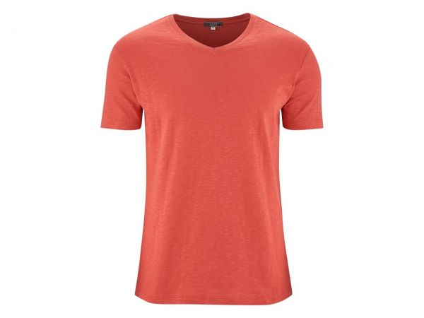 "Living Crafts Bio-Herren-T-Shirt ""Glen"" langoustino, Gr. M"