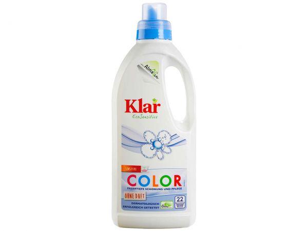 """Klar Basis Sensitive Color-Waschmittel """"EcoSensitive"""" flüssig 1 l"""